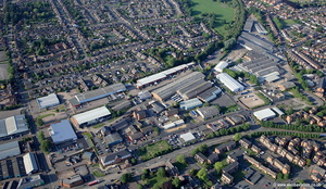 Snow Hill Industrial Estate Snow Hill, Melton Mowbray, LE13 1PD aerial photograph