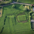aerial photograph of Moated site at Wyfordby