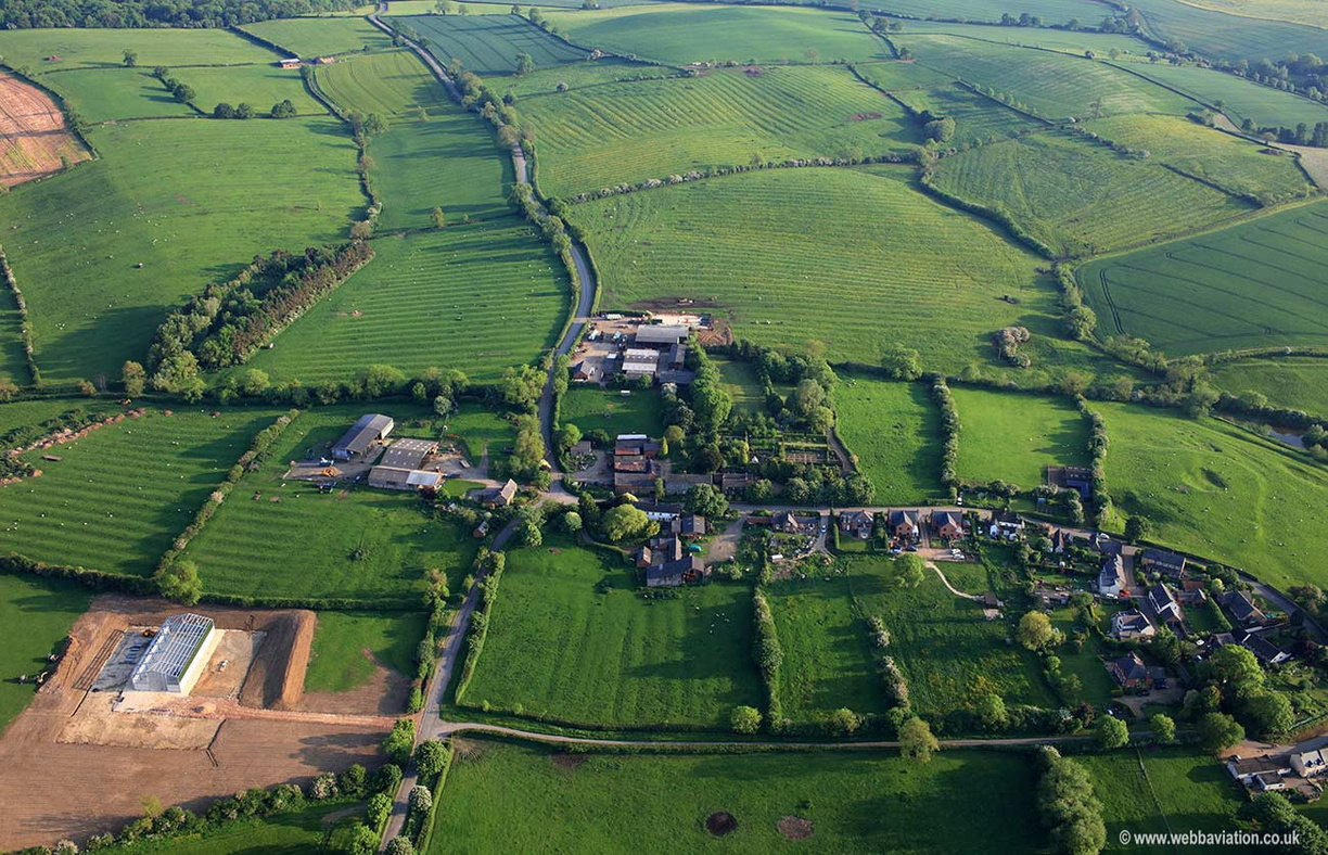 Owston aerial photograph