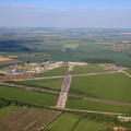 RAF Bottesford Leicestershire  from the air