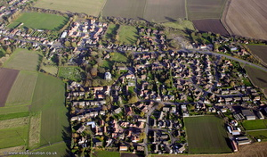 Belton, Isle of Axholme, Lincolnshire from the air