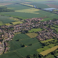 Bardney Lincolnshire from the air