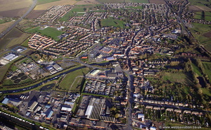 Brigg , Lincolnshire from the air