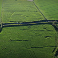 Calcethorpe  deserted medieval villages (DMV) Lincolnshire   from the air