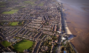 Cleethorpes from the air