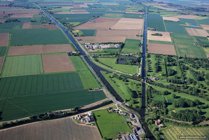 Witham Navigable Drains aerial photograph