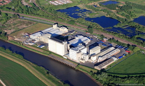 Kerry Foods site at Gainsborough Lincolnshire from the air