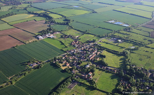 Glentham Lincolnshire from the air