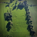 Hallington deserted medieval villages (DMV) Lincolnshire  from the air