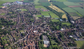 Horncastle, Lincolnshire  from the air