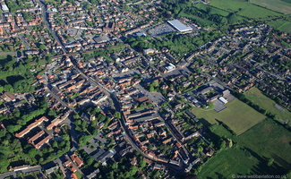Market Rasen from the air