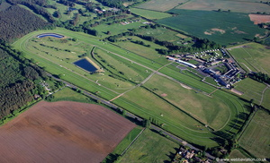 Market Rasen Racecourse from the air