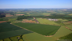 RAF Bardney Lincolnshire from the air