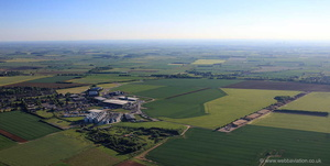 RAF Hemswell Lincolnshire   from the air