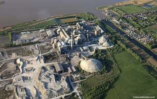 CEMEX UK Cement Ltd  South Ferriby  aerial photograph