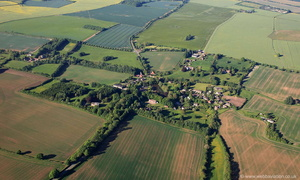 Tathwell Lincolnshire  from the air