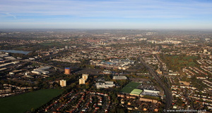 Brent Cross London  aerial photo