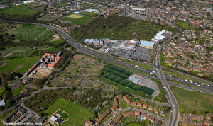 Colney Hatch London  aerial photo