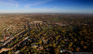 Childs Hill  London  aerial photo