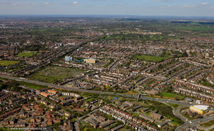 Finchley London  aerial photo