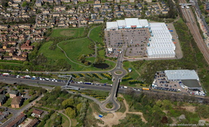 Friern Bridge Retail Park London  aerial photo