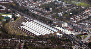 Golders Green Station, London  aerial photo