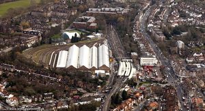 Golders Green Depot , London  aerial photo