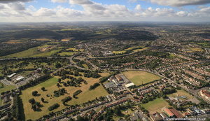 Bexleyheath Bexley London England UK aerial photograph
