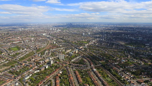 Shoot-Up Hill, Cricklewood from the air
