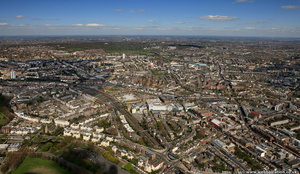 Camden Town  London England UK aerial photograph