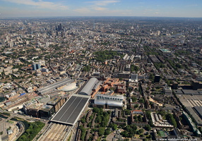 Kings Cross from the air