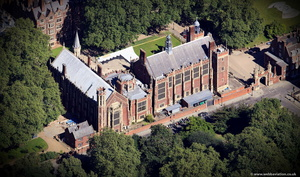 The Honourable Society of Lincoln's Inn in London from the air