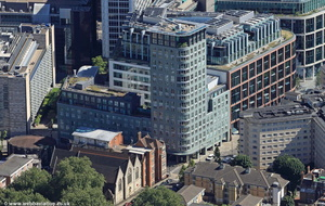 One Osnaburgh Street London NW1  from the air