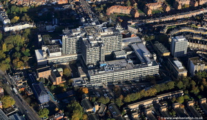 The Royal Free Hospital , London from the air