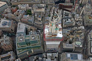 20 Fenchurch Street City of London England UK aerial photograph