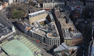 Smithfield Street London EC1A 9LA from the air
