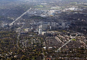 Croydon London England UK aerial photograph