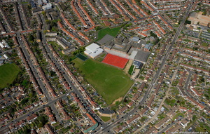 Enfield London England UK aerial photograph