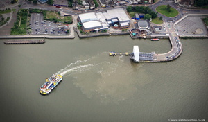 Woolwich Ferry from the air