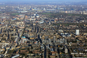 Dalston  London  from the air