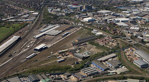 Old Oak Common, London from the air