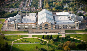 Alexandra Palace Haringey London England UK aerial photograph