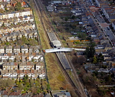 Haringey London England UK aerial photograph