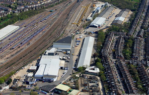 Cranford Way Industrial Estate   London from the air