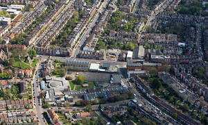 Crouch End   London from the air