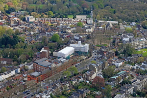 Highgate, London from the air