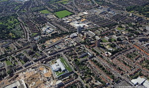 High Rd Tottenham   London from the air
