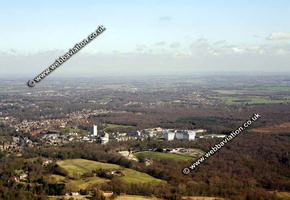 Havering  London England UK aerial photograph