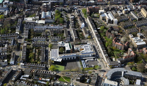 Islington  London England UK aerial photograph