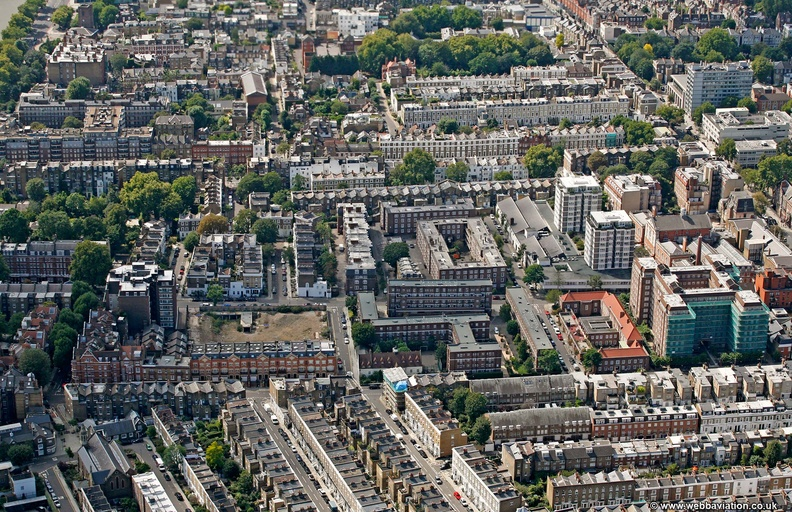 Chelsea from the air